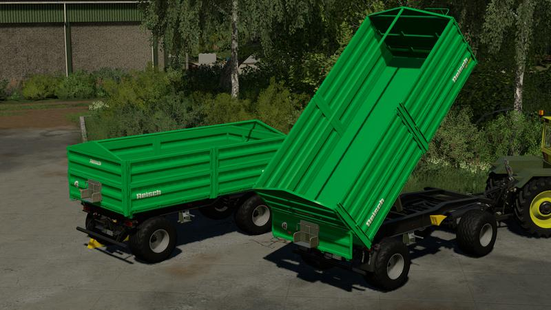 Reisch RD 130 u. RD 150 / RD 150 A 3-way tipper