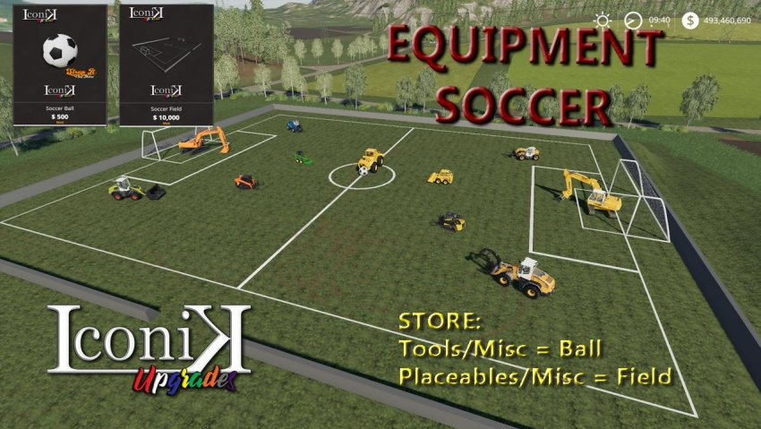 Iconik Soccer Set
