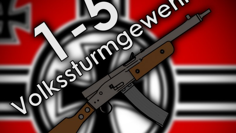 [WW2 Collection] Gustloff Volkssturmgewehr