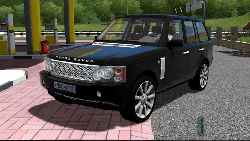 Range Rover Vogue Supercharged 2008