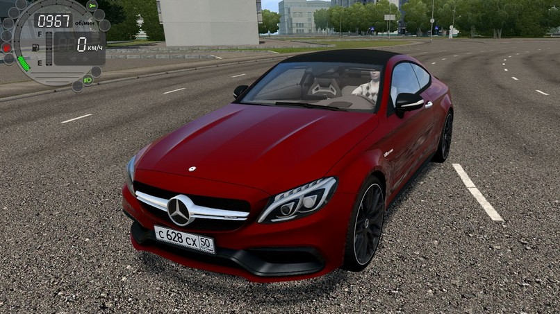 Mercedes-Benz C63 S AMG Coupe 2016