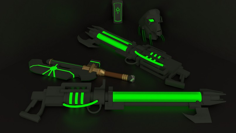 Necron: Standard Weapon Pack 2.0