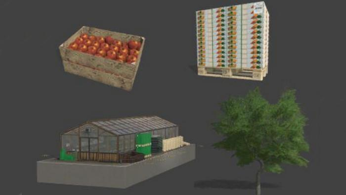 Production pack (fruit and vegetables)