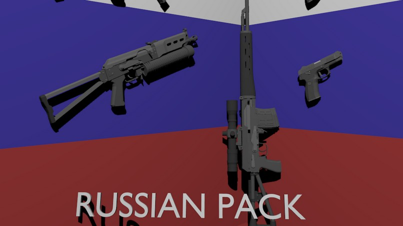 Russian Pack Expansion для Ravenfield