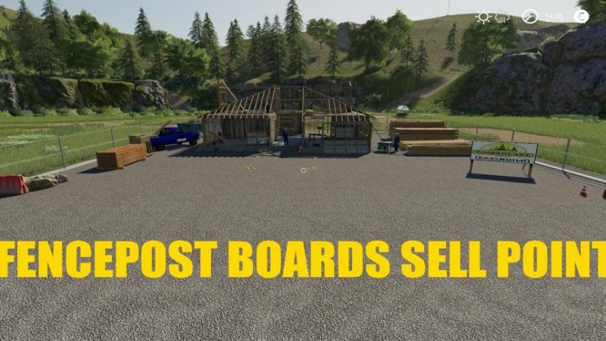FENCEPOST and BOARDS Sell Point
