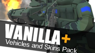 Подробнее о Скачать Vanilla+ - Vehicle Redesigns and Skins для Ravenfield