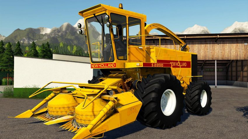 New Holland S2200