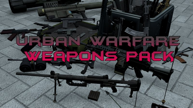 Urban Warfare Weapons Pack