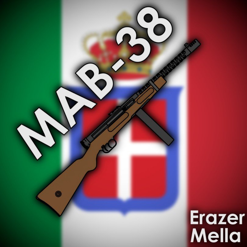 Мод [WW2 Collection] Beretta M38A для Ravenfield