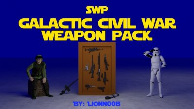 Подробнее о [SWP] Galactic Civil War Weapon Pack