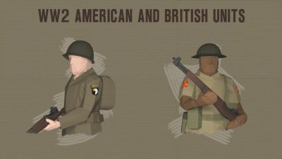 Подробнее о WW2 American and British Units