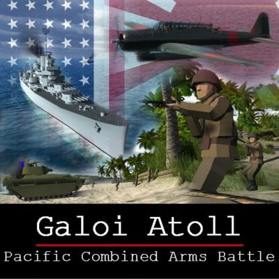 Подробнее о Карта «WW2 Pacific Galoi Atoll» для Ravenfield