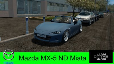 Подробнее о Мод Mazda MX-5 ND Miata для City Car Driving
