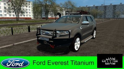 Подробнее о Мод Ford Everest Titanium 2017 для City Car Driving